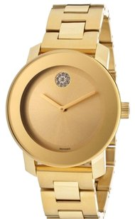 Movado Movado Bold Gold-Tone Stainless Steel 36mm Women's Watch