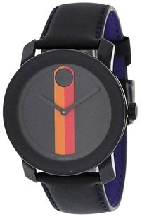 Movado Movado Bold Leather Unisex Watch 3600231
