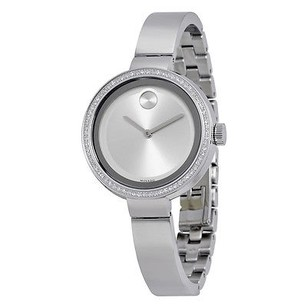 Movado Movado Bold Silver Dial Stainless Steel Ladies Watch