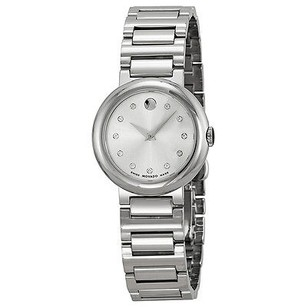 Movado Movado Concerto Silver Dial Stainless Steel Ladies Watch