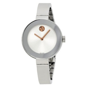 Movado Movado Silver Dial Stainless Steel Ladies Watch