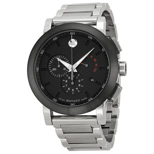 Movado Museum Chronograph Grey Dial Stainless Steel Men's Watch MV0606792