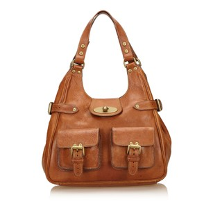 Mulberry Brown Leather Others Shoulder Bag