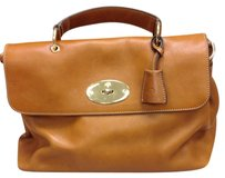 Mulberry Satchel in Oak Tan