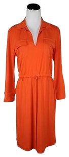 Muse short dress Orange Womens on Tradesy