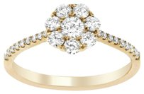 Other 0.75CT DIAMOND 18K ROSE GOLD FLOWER RING (SIZE 5-8)