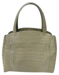 Nancy Gonzalez Taupe Tote in Gray (Taupe)