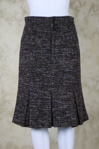 Nanette Lepore Womens Skirt Black / Brown / Tan / Grey