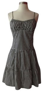 Nanette Lepore short dress black/white on Tradesy