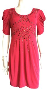 Nanette Lepore short dress Raspberry red on Tradesy