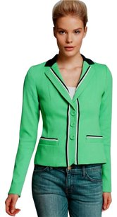 Nanette Lepore Polished Sport Chic Green Blazer