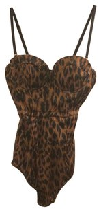 Nasty Gal Top Brown