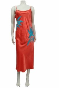 Natori short dress Coral Lanai Long Gown Style Y73116 on Tradesy