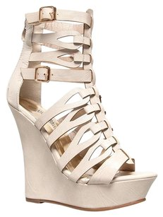 Nature Breeze Beige Wedges