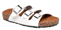 Nature Breeze White Sandals