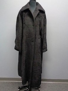 Neiman Marcus Vintage Long Wool Tags Sm8001 Trench Coat