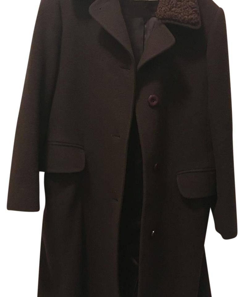 Neiman Marcus wool and cashmere coat