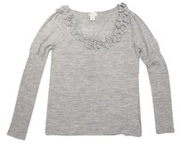 Neiman Marcus Wool Detail Knit Sweater