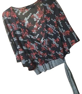 New York & Company Top FLORAL MULTI