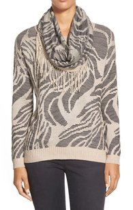 NIC+ZOE Boat Neck Cotton Blends Sweater