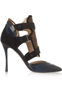 Nicholas Kirkwood Womens Nk_14a001pp02_navy_38.5 Blue Pumps