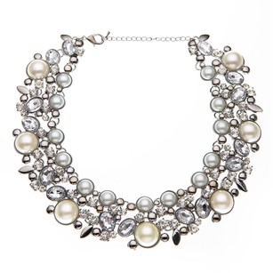Nicola Mari Faux Pear Necklace