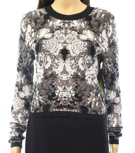 Nicole Miller Crewneck Long Sleeve Sweater