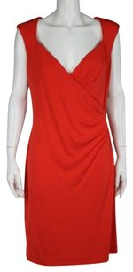 Nicole Miller Womens Sheath Sleeveless Career Wtw Dress