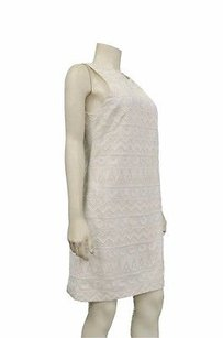Nicole Miller short dress Ivory Silk on Tradesy