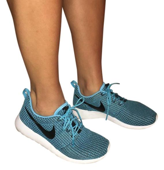 Nike Blue Flyknit Regular Roshe Sneakers Size US 8 Regular Flyknit (M, B) 831e7a