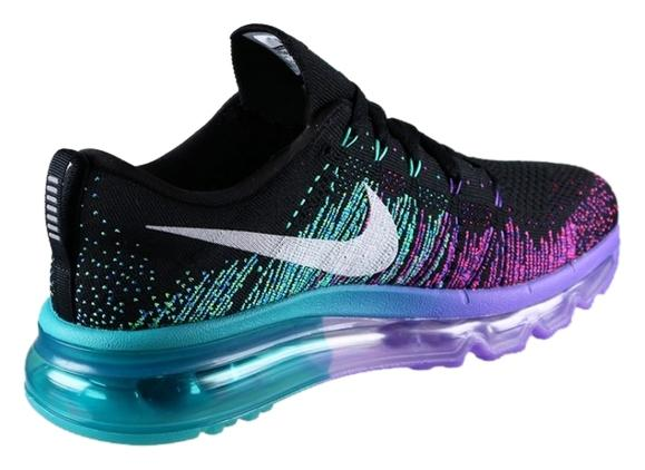 8227f64c0b27 ... store nike flyknit air max 2014 nike flyknit air max 2014 black venom  purple turbo 1c976