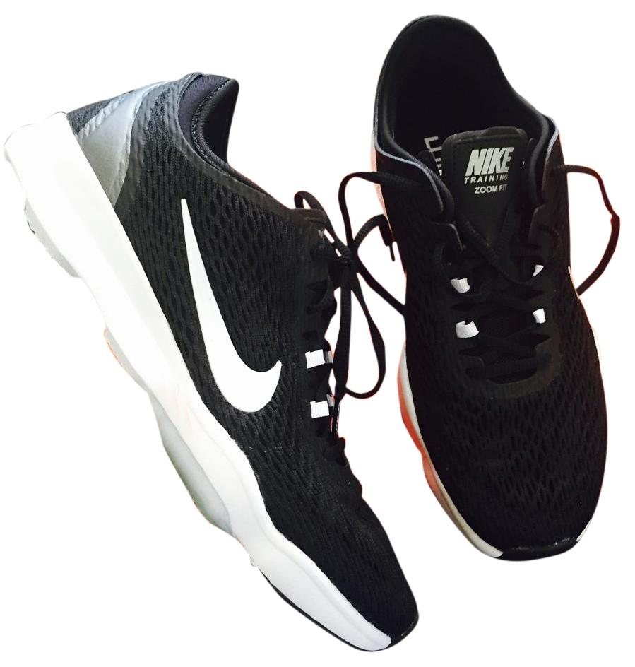 Nike Women's 8 Black Zoom Trainers New Sneakers Size US 8 Women's Regular (M, B) eaa983