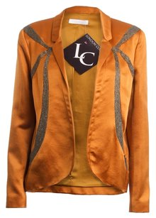 Nina Ricci Couture Silk COPPER Blazer