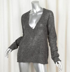 Nina Ricci Womens Charcoal Sweater