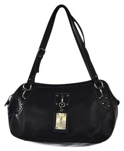 Nine West Womens Satchel in Black