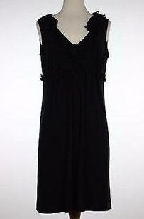 Nine West short dress Black Womens Solid Above Knee Polyester Blend on Tradesy