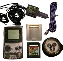 Nintendo Gameboy Color with Carrying Case, Game, Car Charger and more