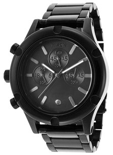 Nixon Nixon A354001-00 Women's Camden Chrono Black IP Stainless Steel and Dial