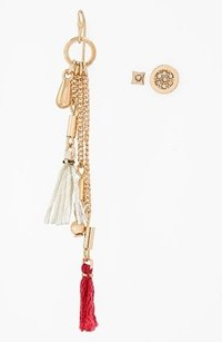 Nordstrom Nordstrom Leith Dripping Tassel Stud Mismatched Earrings Set Of 3