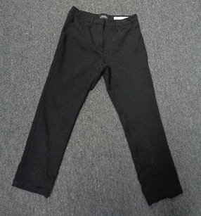NYDJ Not Your Daughters Black Casual Straight Pant Sma 6528 Relaxed Fit Jeans