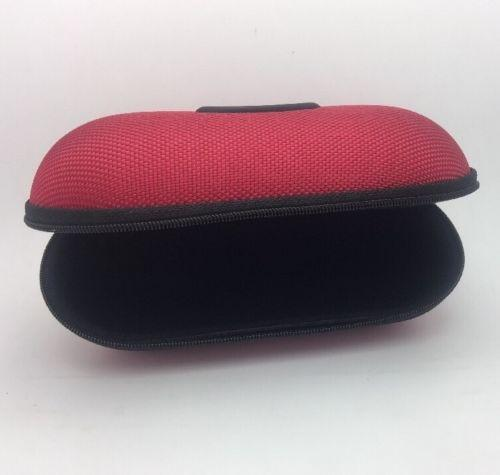 oakley glasses case small soft vault  oakley new oakley large soft vault sunglasses or eyeglass case: ballistic red