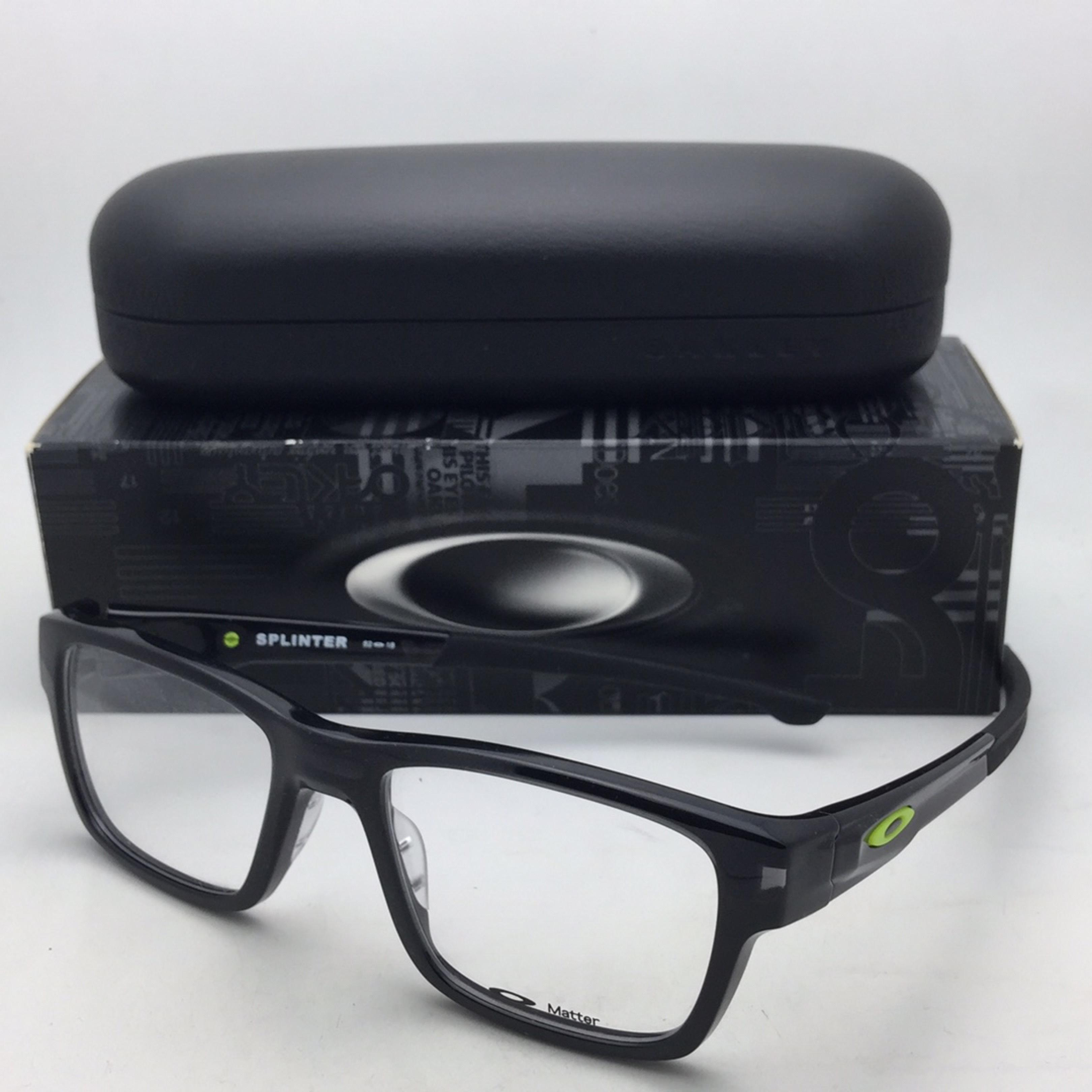 f1e474571b ... france oakley oakley eyeglasses splinter ox8077 0452 52 18 137 black  ink retina burn 176dc 085db