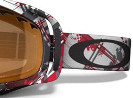 oakley ski goggles crowbar  Oakley Snow Ski Goggles CROWBAR SNOW Red/Wh Shattered/Persimmon 57 ...