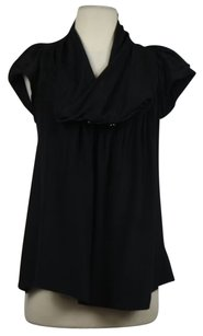 Odille Womens Solid Top Black