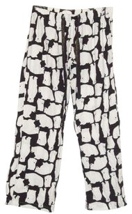 Old Navy Flannel Polar Bears Sleepwear Relaxed Pants Black/White