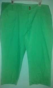 Old Navy Capris Green