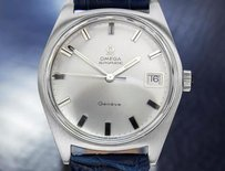 Omega Mens Omega Geneve Swiss Made Automatic 1970s Stainless Steel Dress Watch 6507