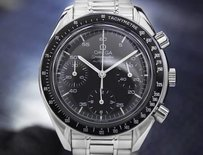 Omega Mens Swiss Omega Speedmaster Chronograph Automatic Stainless Steel 1990s Dn166