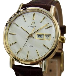 Omega Omega Accuset 1970s Swiss Made Gold Plated Precision Quartz Watch For Men Mx27