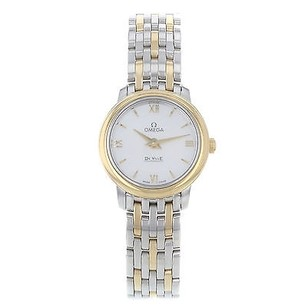 Omega Omega Deville Prestige 424.20.24.60.05.001 Steel Gold Quartz Ladies Watch